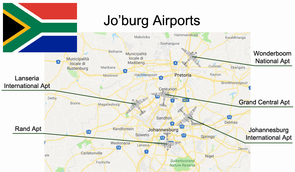 johannesburg airports title
